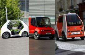 Renault Pamerkan 3 Purwarupa Mobil Listrik