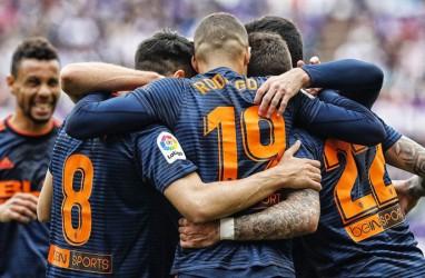 Hasil La Liga, Valencia Tim Terakhir dari Spanyol ke Liga Champions
