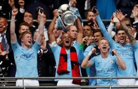ManCity Raih Treble, Gasak Watford 6 - 0 di Final Piala FA