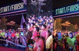 Pengembang Bintaro Gelar Lari Amal di Malam Hari