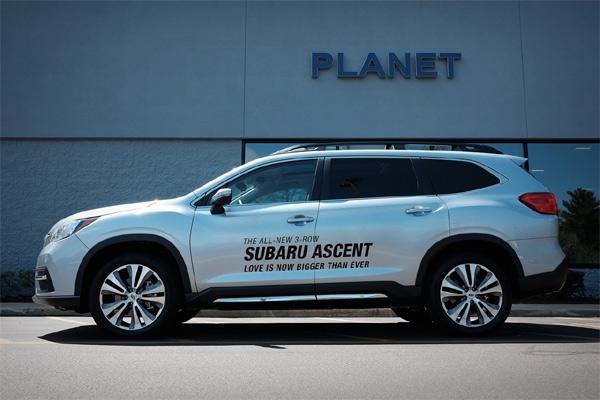 Subaru Ascent 2020.  - foto planetsubaru.com
