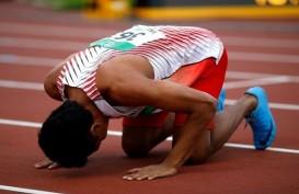 Lalu M. Zohri Pertajam Rekor Nasional di Jepang, Beda 3 Detik dari Juara Dunia