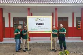 Jayaboard Restorasi Gedung Sekolah di Lombok