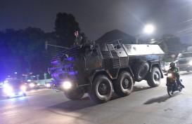 Kendaraan Taktis Perkuat Pengamanan di KPU