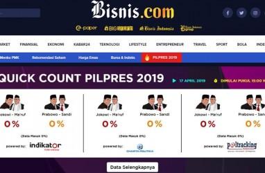Hasil Rekapitulasi KPU vs Quick Count Lembaga Survei, Tiga Provinsi Keliru