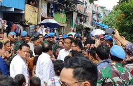 Menanti Saat-Saat Deklarasi Kemenangan Jokowi dari Kampung Deret Jakarta
