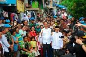 Ini Alasan Jokowi Deklarasi Kemenangan di Kampung Deret