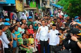 Ini Alasan Jokowi Deklarasi Kemenangan di Kampung…