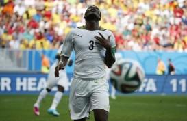 Ban Kapten Dicopot, Asamoah Gyan Mundur dari Timnas Ghana