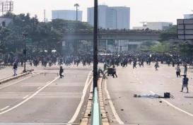 Kerusuhan di Tanah Abang, Ini Foto-Foto Reportase dari Lapangan