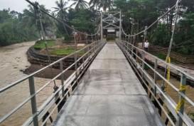 Jembatan Gantung Kian Rai Ikun Permudah Pergerakan Warga