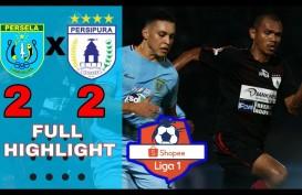 Liga 1: Persela vs Persipura Skor Akhir 2-2. Ini Videonya