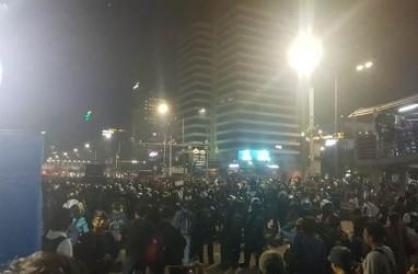 Polisi Sempat Meminta Massa Keluar dari Gedung Sarinah