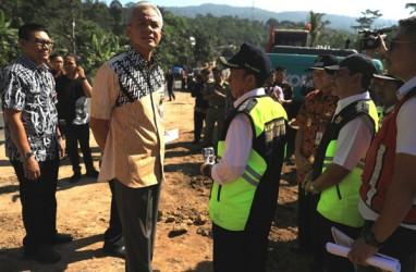 Ganjar Inspeksi Jalur Mudik Tengah-Selatan Jawa Tengah