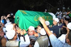 Jenazah Ustaz Arifin Ilham Tiba di Az Zikra Gunung…