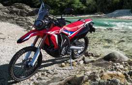 Wajah Baru Di Kelas Trail, Honda Segarkan Desain CRF250 Rally