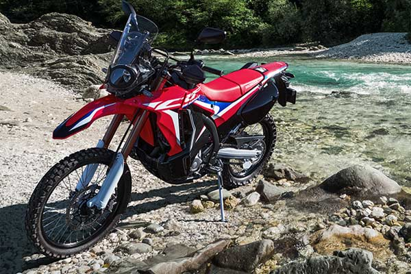 New Honda CRF250 Rally.  - astra/honda.com