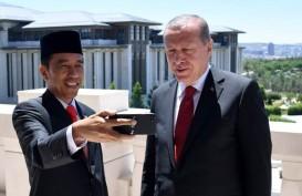 Presiden Turki Recep Tayyip Erdogan Beri Selamat ke Presiden Jokowi