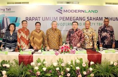 Modernland Realty Raup Prapenjualan Residensial Rp2,97 Triliun