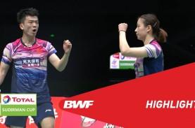 Semifinal Piala Sudirman: China Tekuk Thailand 3-0.…