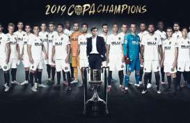 Valencia Juara Copa del Rey, Tundukkan Barcelona di Final