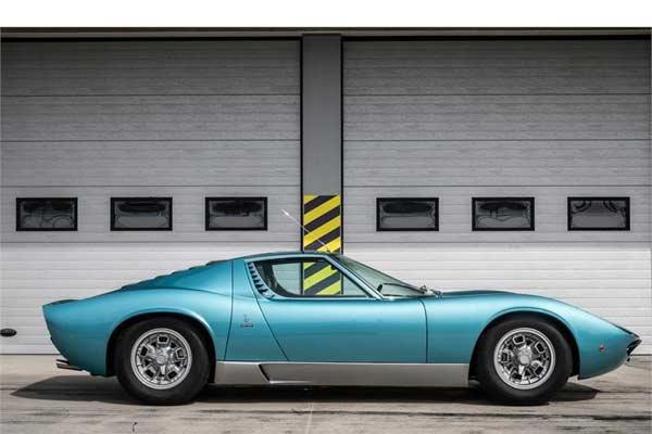 Miura S milik Little Tony di ajang Villa d'Este. Foto Lamborghini