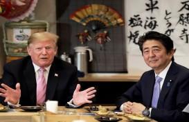 Trump dan Shinzo Abe Mulai Pembicaraan Hari Ini