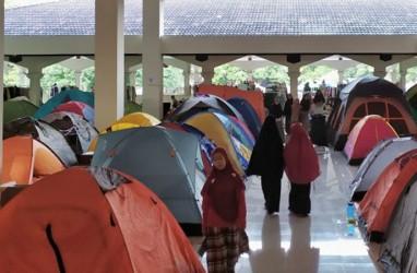 300 Tenda di Masjid Habiburrahman untuk Iktikaf