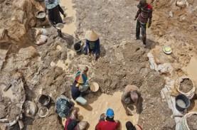Tambang Timah Ilegal di Babel Rambah Tanah Negara