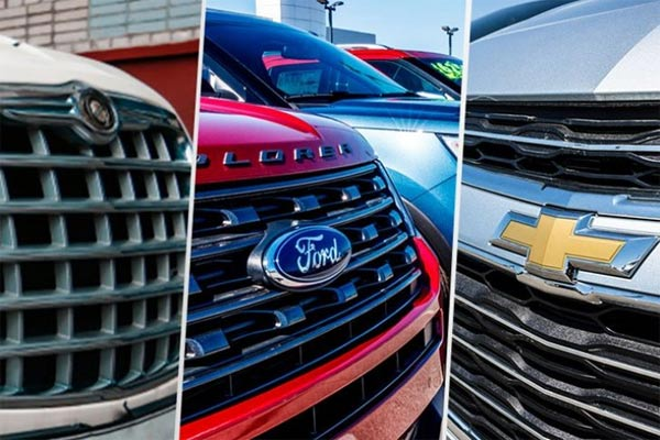 The Big Three Amerika Serikat : General Motors (GM), Ford dan Fiat Chrysler Automobiles (FCA).  - FOTO ANTARA