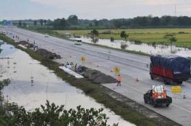 Trans Jawa Tersambung, Tol Ngawi-Kertosono Kebanjiran…