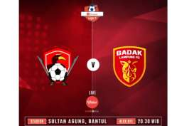 Liga 1: Duel Kalteng Putra vs Perseru, Live Sekarang