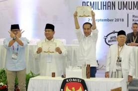 Jokowi-Amin dan Prabowo-Sandi Sama-Sama tak Tertib…