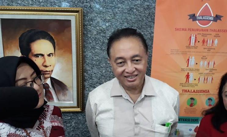 Dokter Spesialis Penyakit Dalam, T. Djumhana Atmakusumah. JIBI/Bisnis - Ria Theresia Situmorang