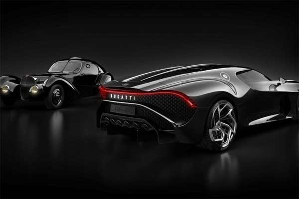 Bugatti La Voiture Noire. foto bugatti
