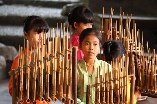 Ilustrasi - Alat musik Angklung - Bisnis/Istimewa