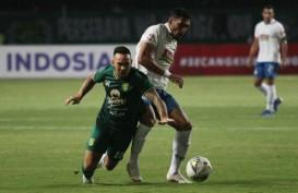 Hasil Liga 1, Persebaya Surabaya Seri 1 - 1 Lagi di Kandang