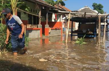 Pintu Air Pasar Ikan Jakut Siaga 2, Warga Diimbau Waspadai Banjir Rob