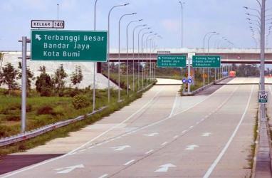 Jalan Nasional Kurang Diminati, Tol Trans-Sumatra Favorit Pemudik