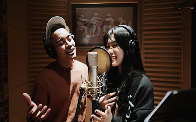 Gamaliel dan Isyana Sarasvati - Sumber : Disney Indonesia