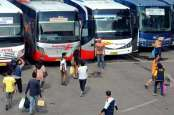 AHM Antar Ribuan Pemudik Motor Pulang Kampung Naik Bus Eksekutif