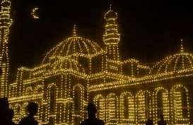 Sambut 27 Ramadan, Bengkalis Gelar Festival Lampu Colok