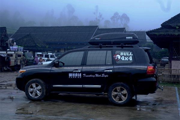 Penggunaan roofbox akan menambah kenyamanan pemilik kendaraan karena ruang kabin semakin lega dan bersih.  - foto whalecarrier.com