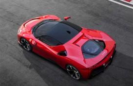 Gunakan Mesin Hibrida, Ferrari Siap Melesat 340 Km per Jam