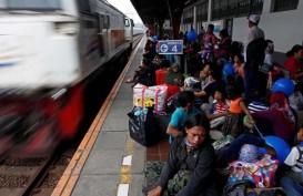 222.500 Orang Tinggalkan Jakarta via Stasiun Pasar Senen