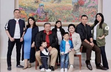 Potret Kedekatan Ani Yudhoyono dengan Annisa Pohan dan Aliya Rajasa