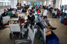 Penumpang Bandara Juanda Turun 22 Persen