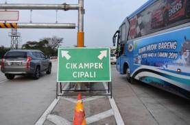Lalu Lintas di GT Cikampek Utama Meroket 219%, Contraflow…