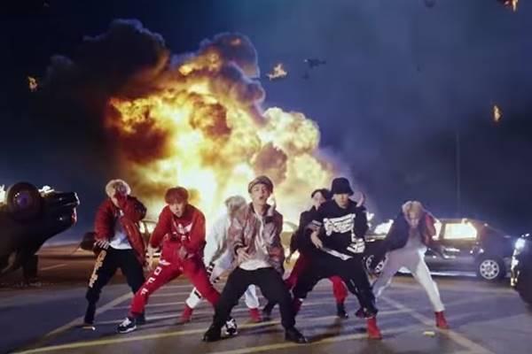 Boyband Korea Selatan BTS atau Bangtan Boys - Istimewa