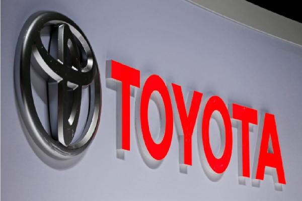 Logo Toyota Motor Corp. - reuters